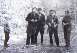 Na polowaniu – 1966r.