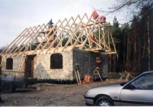Remont domku – jesień 1999r.